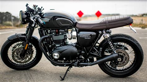 Triumph Bonneville T120 Modification by 2018 Triumph Bonneville T120 Black Dennis Kirk Garage