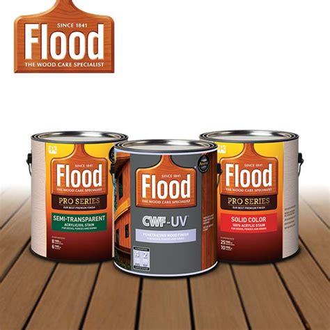transparent wood stains flood