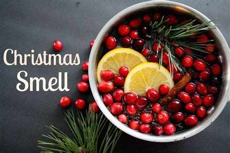 keep it beautiful stove top christmas smell