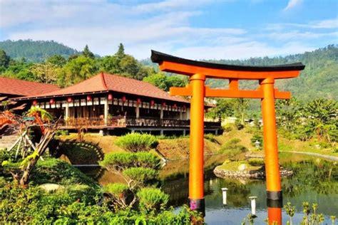 potret  onsen hot spring tempat wisata ala jepang