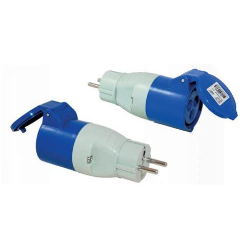 cee adapterkabel schuko stecker cee kupplung 820212 strom und ger 228 te adapter schuko stecker cee kupplung