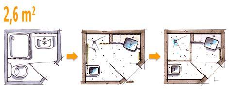 Kleines Bad Mit Dusche 3 Qm by Badplanung Beispiel 2 6 Qm Mehr Platz Im Minibad Bad