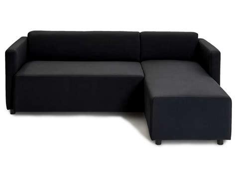 canape noir pas cher canapé d 39 angles noir pas cher