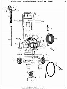 Homelite Ps80517 Pressure Washer Parts Diagram For General