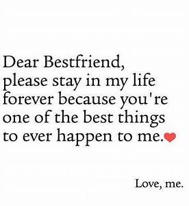 Dear Best Friends Pictures, Photos, and Images for ...