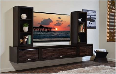 wall mounted tv cabinet furniture gbvims makeover