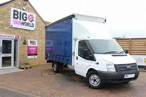 2013 Ford Transit 350 Tdci 125 Lwb Curtain Side Fwd