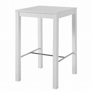 Bodenvase Weiß 70 Cm : bartisch hartley wei 70x70 cm stehtisch bistrotisch tisch thresen ~ Frokenaadalensverden.com Haus und Dekorationen