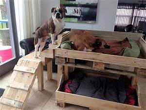 50 diy ideas for wood pallet dog beds diy motive part 2 With soundproof dog bed