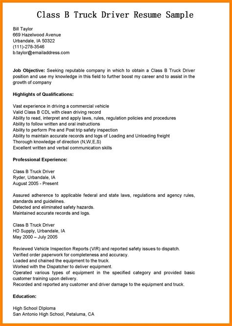 Truck Driver Qualifications Resume by 12 13 Truck Driver Qualifications Resume