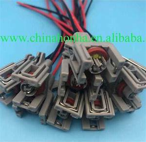 2 Pin Diesel Injector Wiring Harness Connector Plug Common