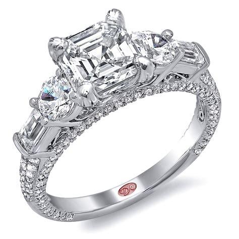 unique engagement rings dw4875
