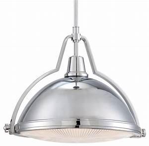Minka lavery 2253 77 chrome 1 light 1425quot height indoor for Chrome barn light