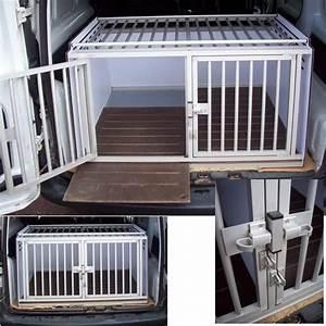 Cage Transport Chien Voiture : cage de transport pour chiens dogbox pro double toit barreaux caisses pour le transport et le ~ Medecine-chirurgie-esthetiques.com Avis de Voitures
