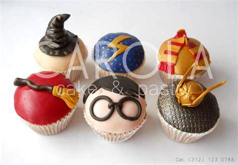 harry potter cupcakes hogwarts snitch dorada quidditch