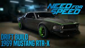 need for speed 2015 1969 ford mustang rtr x drift