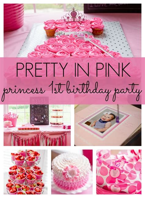 birthday party ideas 1st birthday party ideas pretty in pink birthday party pretty my party