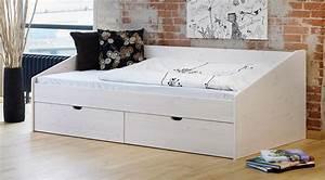 Metallbett 90x200 Weiß : sch nes einzelbett aus buche in 90x200 cm bett d nemark ~ Indierocktalk.com Haus und Dekorationen