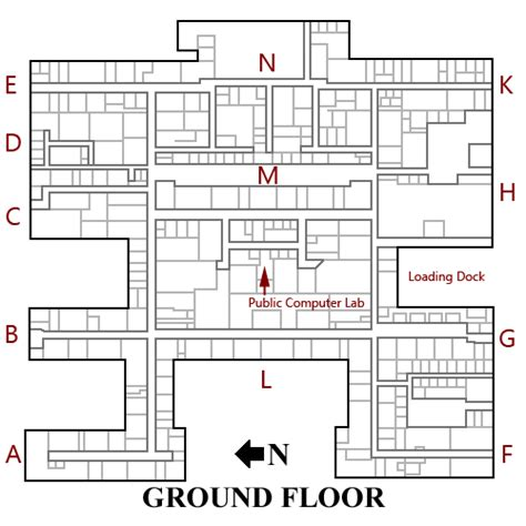 What Is A Floor Tech Engineer by Map Of The Technological Institute S Ground Floor