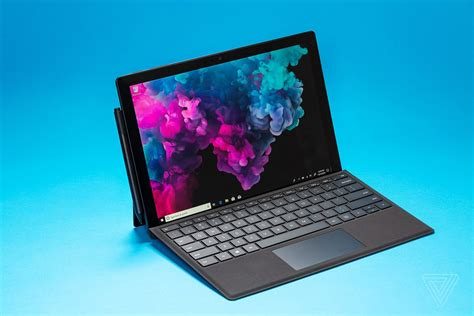 microsoft surface pro 6 review a familiar bet the verge