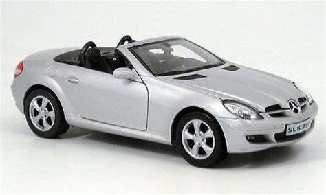 mercedes slk miniature  grise welly  voiture