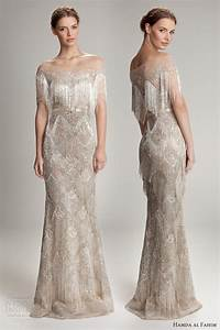 hamda al fahim fall winter 2012 2013 collection wedding With fringe wedding dress