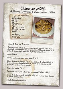 exemple de recette de cuisine creer mon livre de recettes personnalisé