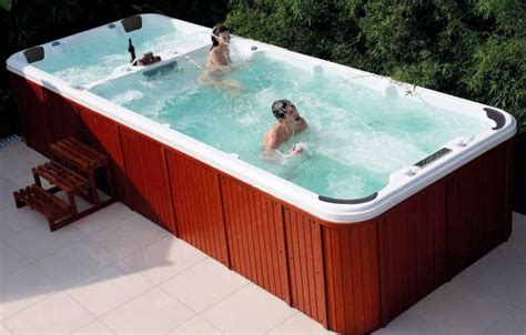 mini piscine miami pas cher spa miami de nage 7 places exterieur encastrable a prix