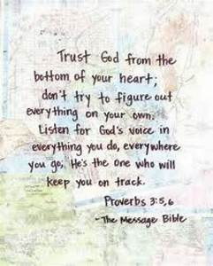 Bible Quotes About Trust. QuotesGram