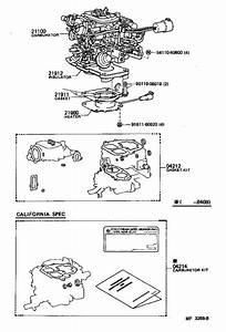 Toyota 4runner Insulator  Carburetor Heat  System  Arl  Fuel