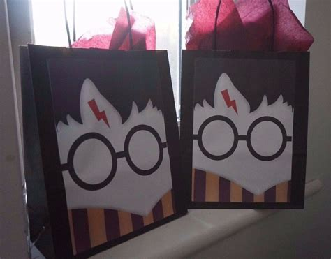 harry potter personalised party bags birthday baby