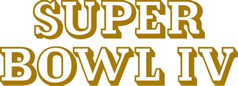 Super Bowl Iv Wikipedia