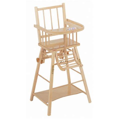 chaise combelle chaise haute transformable vernie combelle avis
