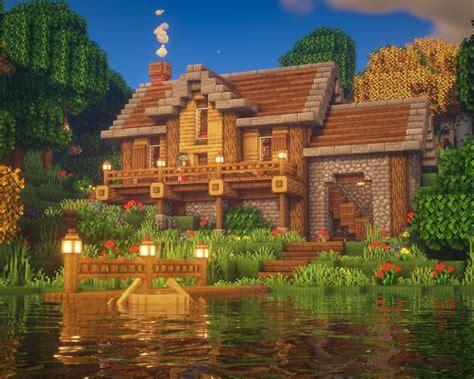 minecraft lake house   amazing minecraft houses minecraft mansion cute minecraft houses