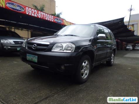 manual cars for sale 2004 mazda tribute electronic toll collection mazda tribute automatic 2004 for sale manilacarlist com 411203