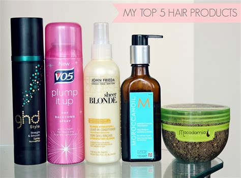 styling products for hair my top five hair products couture
