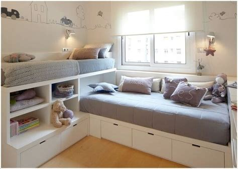 Clever Kids Room Storage Ideas-icreatived