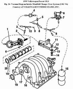 2000 Vw Passat Vacuum Diagram