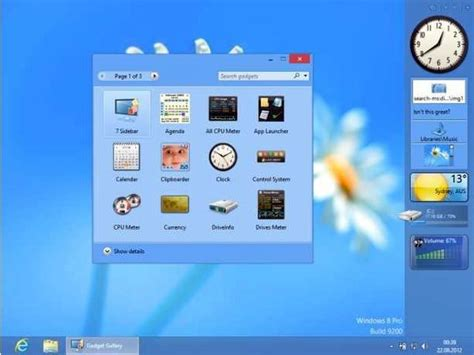 gadgets bureau windows 7 useful free gadgets windows 7 desktop interior design
