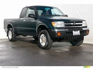 2000 Imperial Jade Green Mica Toyota Tacoma Prerunner