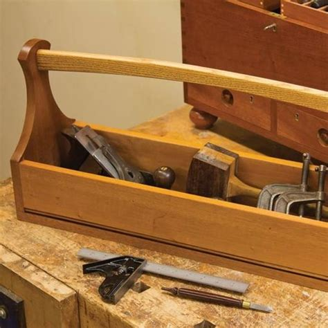woodcraft magazine craftsmans tool tote downloadable plan