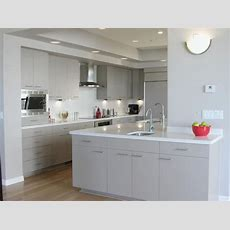 White Laminate Kitchen Cabinets  Home Furniture Design