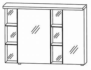 Spiegelschrank Bad 100 Cm Breit : puris linea spiegelschrank 100 cm breit s2a42r1s1 badm bel 1 ~ Frokenaadalensverden.com Haus und Dekorationen
