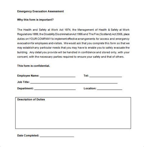 Evacuation Procedure Template Free by 11 Evacuation Plan Templates Free Sle Exle