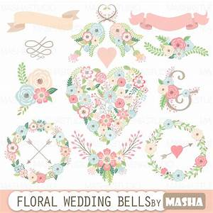 floral wedding clipart quotfloral wedding bellsquot with floral With wedding invitation flower clipart free