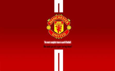 meilleur ordinateur bureau manchester united logo fonds d 39 écran wallpaper wiki