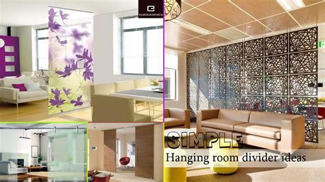 design your livingroom simple hanging room divider ideas
