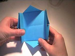Quadratische Schachtel Falten : anleitung zum falten einer schachtel aus papier youtube ~ Eleganceandgraceweddings.com Haus und Dekorationen