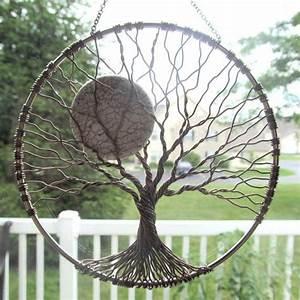 Arbre De Vie Deco : pin by krystal abshire on porch sitting macram arbre de vie arbres en fil ~ Dallasstarsshop.com Idées de Décoration
