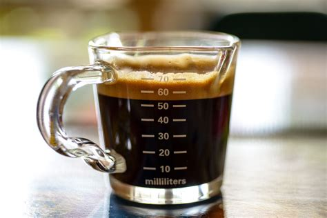 Or the measurement to create the perfect shot of the same? Double Shot - Double shot espresso o n measuring cap ...